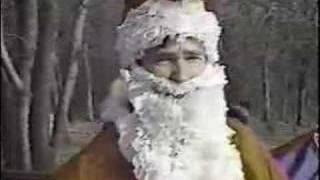 Classic Surfing Santa