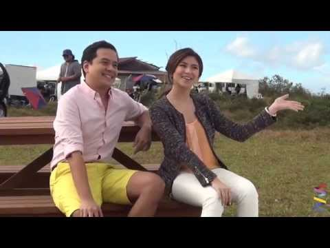 Sarah G and John Lloyd's - Exclusive Behind-the-Scenes!
