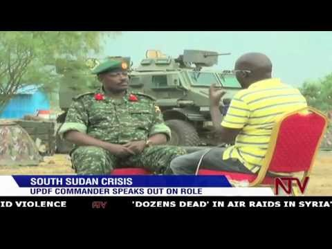 South Sudan Crisis: UPDF Commander speaks out