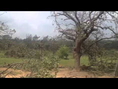 Damage Bethel Acres-Shawnee Tornado May 19, 2013