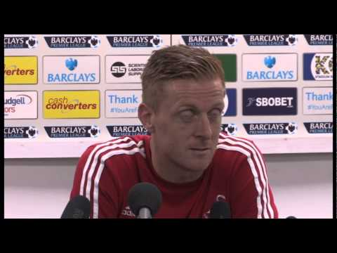 Swansea boss Garry Monk | post match at Hull City