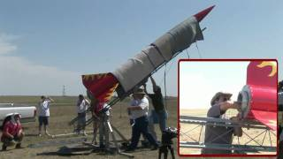 LDRS 25 - Phoenix XL Q-13000 - High Power Rocket Launch