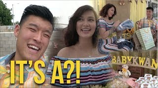 BART AND GEO'S BABY GENDER REVEAL PARTY!
