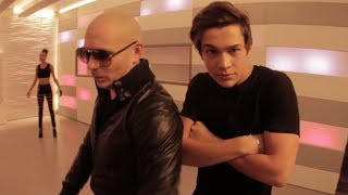 Austin Mahone Mmm Yeah Feat. Pitbull Music Video (Behind