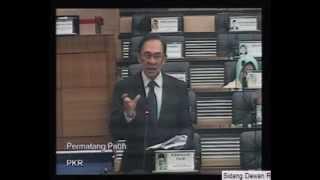 Ketua Pembangkang Bahas Titah Diraja 2013 (2) view on youtube.com tube online.