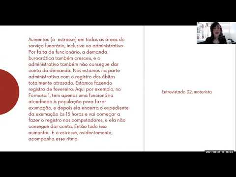 PESQUISA | Intensificação do trabalho e sofrimento no contexto Covid-19 (Trecho 2)