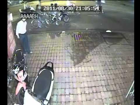camera quay được vụ trộm xe