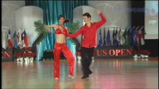 Benji Schwimmer & Kellese Key 2008 US Open Swing Dance