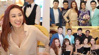 Chỉ vì dự đám cưới Lê Phương mà Ngân Khánh tức tốc bay từ Singapore về tham dự....