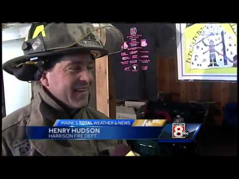 Maine firefighters ski to help fight breast cancer