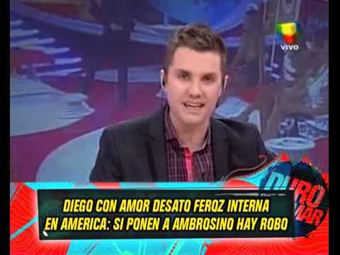 DURO DE DOMAR - EL AMOR DE MARADONA DESATO UNA INTERNA EN AMERICA 19-02-13
