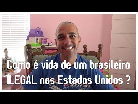 Como é vida de um brasileiro ILEGAL nos Estados Unidos ?