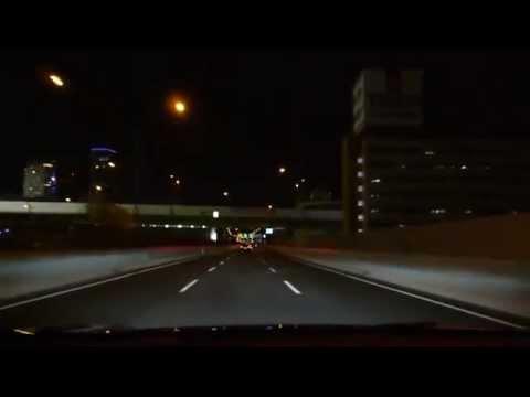 LEXUS RX450h FSPORT Driving at night
