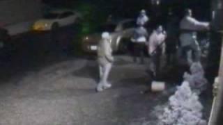 Gun Fight Caught On Tape