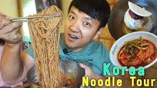 TRADITIONAL Korean Noodle Tour in South Korea