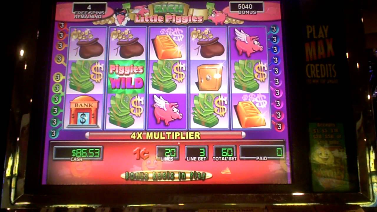 rich little piggies 2 slot machine