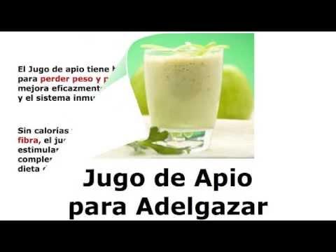 Jugo de Apio para Adelgazar - YouTube