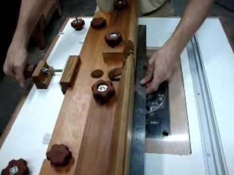Batente de tupia em madeira