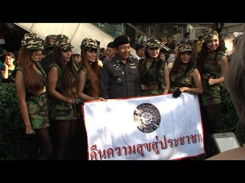 Thai junta's spin doctors prescribe 'national happiness'