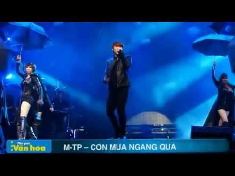 M-TP - Cơn mưa ngang qua ( Live Bài Hát Yêu Thích Tháng 10/2012)