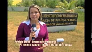 Pol�cia Federal prende suspeitos de traficar drogas entre Minas e Mato Grosso