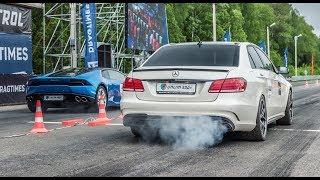 DT_LIVE. Тест 1200 л.с. Mercedes E63 AMG. DragTimes info video - Драгтаймс инфо видео.