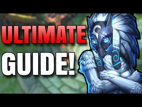 The Ultimate SEASON 8 JUNGLE KINDRED GUIDE For RANKED!