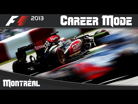 F1 2013 Career Mode: Round 7 Canadian Grand Prix (Montreal)