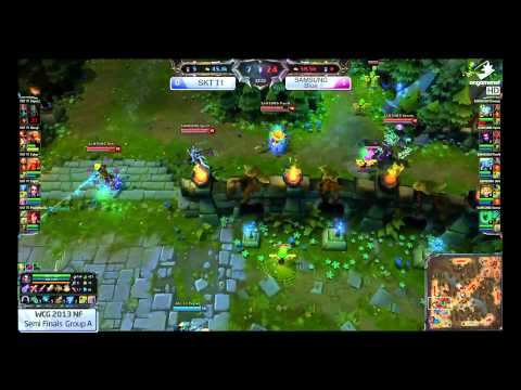 Samsung Galaxy Blue vs SK Telecom T1 - WCG Korea Semifinals - Part 4