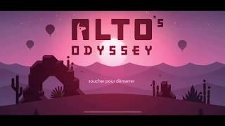 Alto's Odyssey : tuto accéléré, ambiances météo et mode Zen - jeu iPhone, iPad, Apple TV