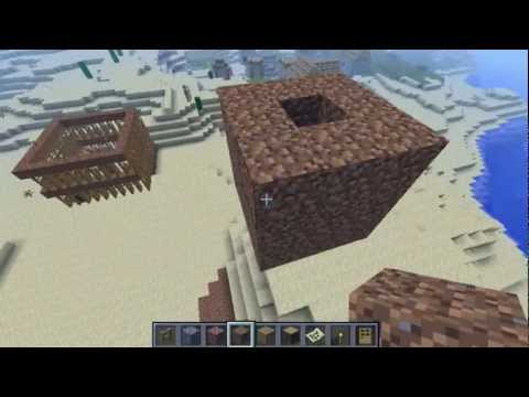 Automatic and Semi-Auto Iron Golem Farm Minecraft Tutorial 1.4.6
