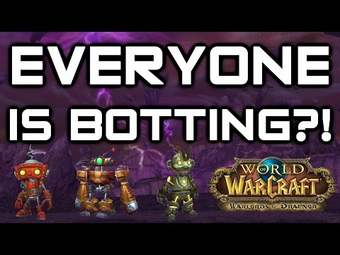 EVERYONE IS A BOT?! Honorbuddy is getting ridiculous - Warlords of Draenor PvP (WoD)