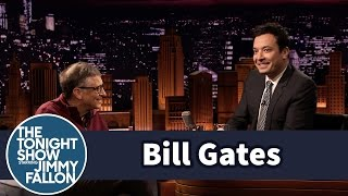 Bill Gates Drink Sewage Water with Jimmy Fallon