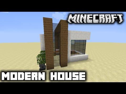 Minecraft - Hướng Dẫn Xây Nhà Hiện Đại Trong Minecraft