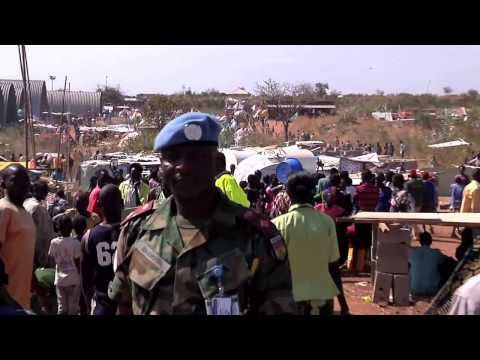 December 18 2013 UN Assistance to South Sudanese seeking refuge