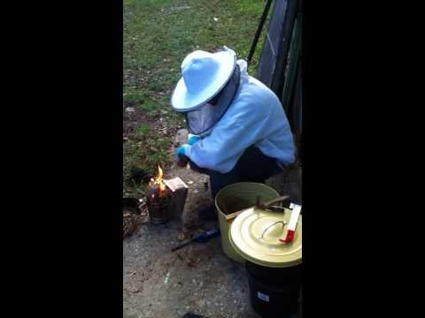 Beekeeping Lesson 1: How to light your smoker