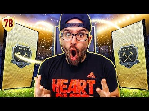 MY ELITE REWARDS & MY INSANE NEW TEAM!! FIFA 18 Ultimate Team Road To Fut Champions #78 RTG