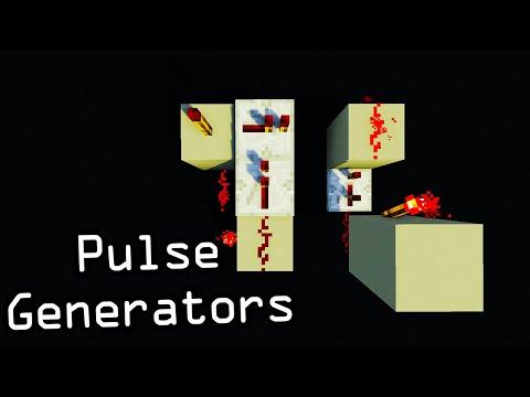 tutorial: ? Minecraft - Silent Compact 1-Tick Pulse Generators - Edge Detectors - Redstone Tutorial (HD) ?