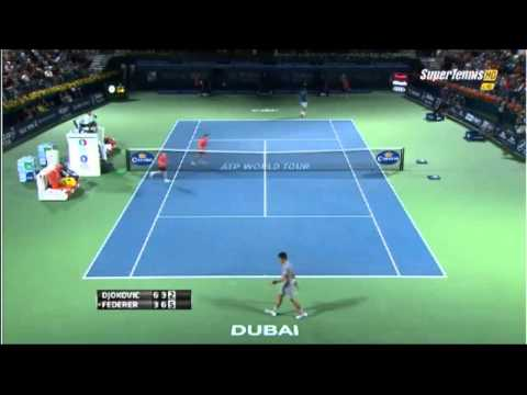 Roger Federer vs Novak Djokovic Highlights || Dubai 2014 SF (HD)
