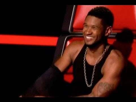 "USHER TAKES SHIRT OFF & CHRISTINA AGUILERA RETURNING ""THE VOICE"" TOP 12 PERFORMANCE RECAP 04x17"