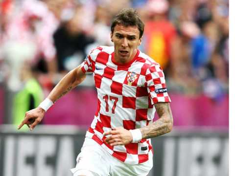 He is a legend , Mario Mandzukic