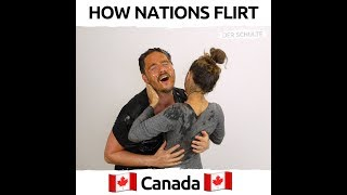 How Nations Flirt