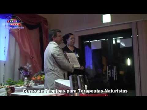 Formatura do Curso de Tcnicas para Terapeutas Naturistas