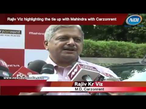 Carzonrent Offers Mahindra Reva E2o Self-Drive Fleet