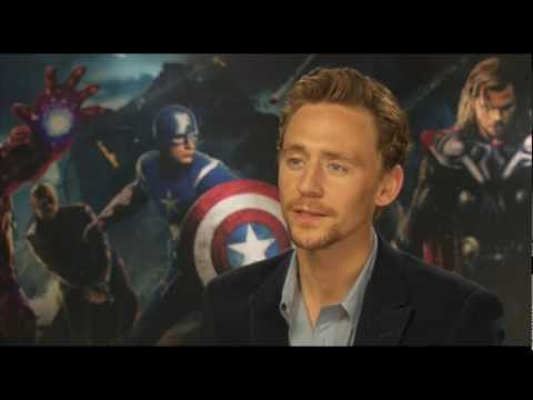 AVENGERS Interview - Tom Hiddleston talks about playing LOKI against Thor