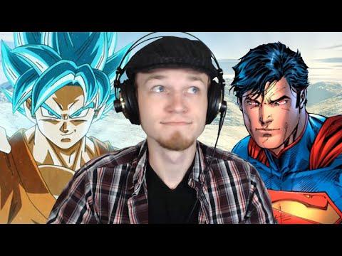 Let's Watch DEATH BATTLE | Goku VS Superman 2