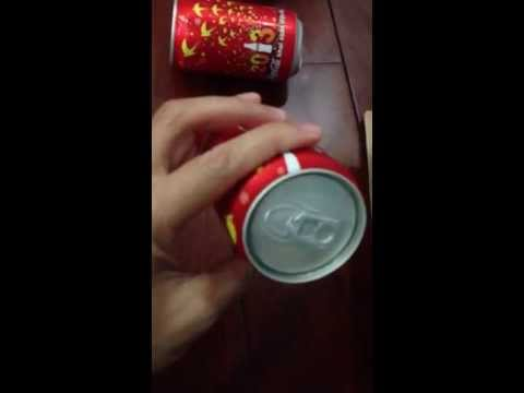 Mẫu lon mới của Cocacola