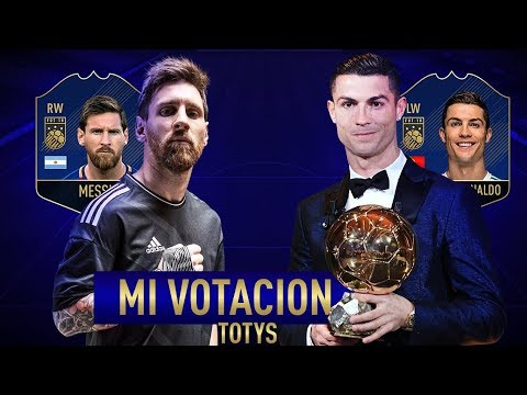 EL 11 TOTY DE FIFA 18 ULTIMATE TEAM  (VOTASION)
