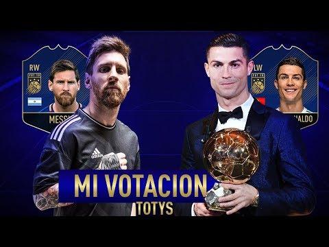 EL 11 TOTY DE FIFA 18 ULTIMATE TEAM  (VOTASION)
