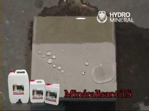 Hydrofuge pierre